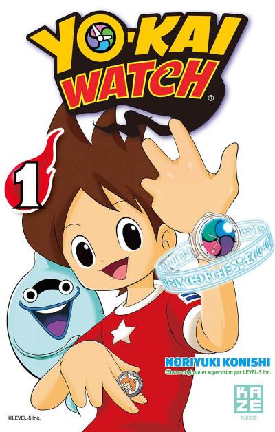 Couverture Yô-Kai Watch tome 1