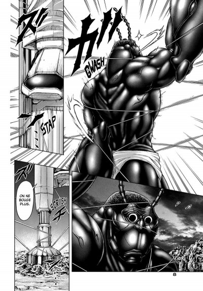 Page 8 Terra Formars tome 9
