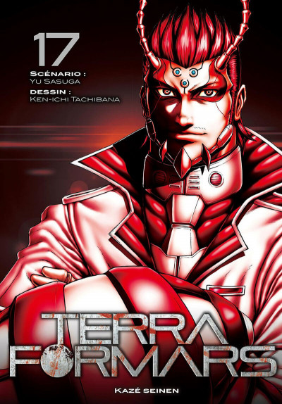 Couverture Terra formars tome 17