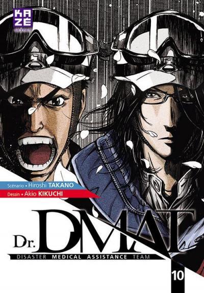 Couverture Dr DMAT tome 10