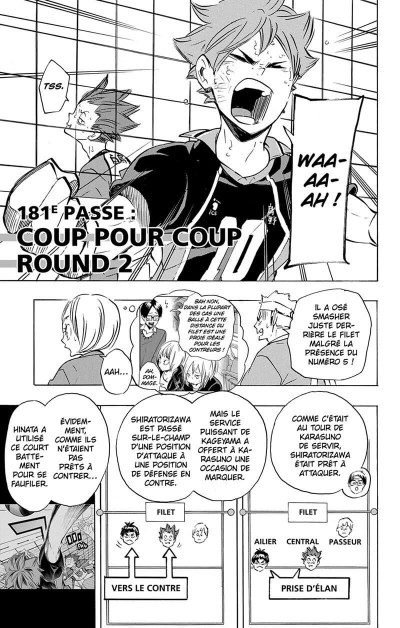 Page 6 Haikyu !! - Les as du volley tome 21