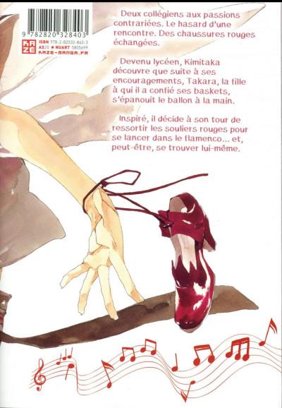 Dos Le chant des souliers rouges tome 1