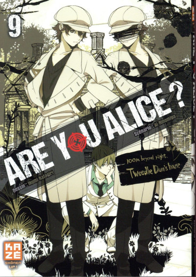 Couverture Are you Alice ? tome 9