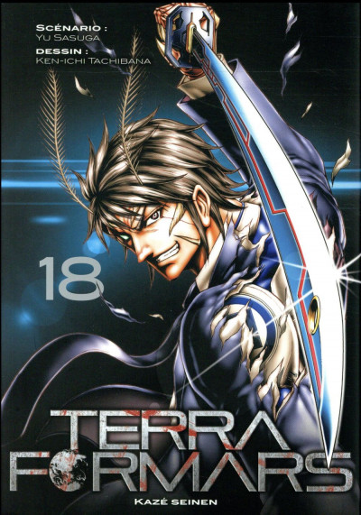 Couverture Terra formars tome 18