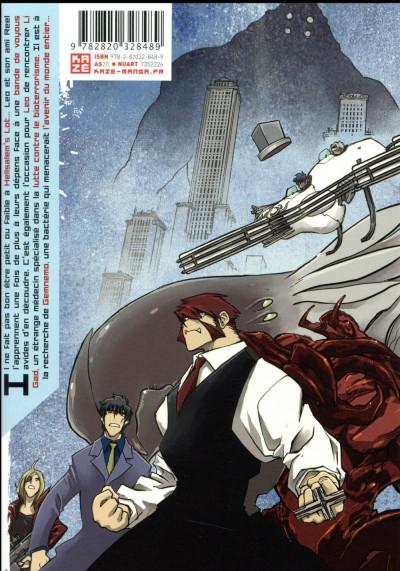 Dos Blood blockade battlefront tome 7