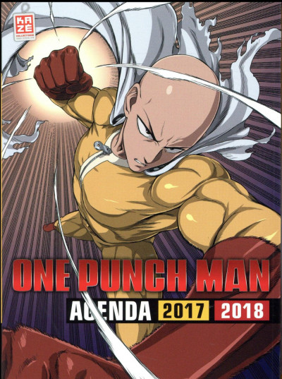 Couverture Agenda 2017/2018 - One punch man