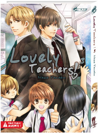 Couverture Lovely teachers tome 3