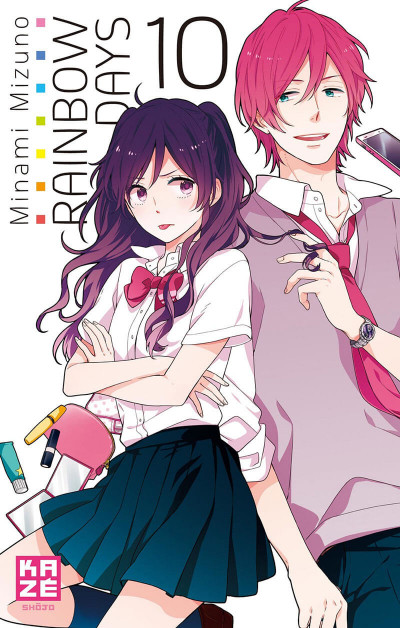 Couverture Rainbow days tome 10