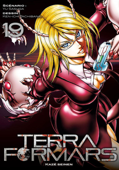 Couverture Terra formars tome 19