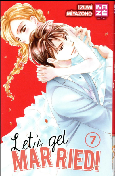 Couverture Let's get married ! tome 7