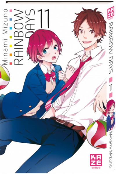 Couverture Rainbow days tome 11