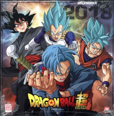 Couverture Dragon Ball Super - calendrier 2018