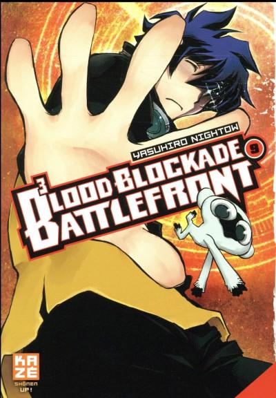 Couverture Blood blockade battlefront tome 9