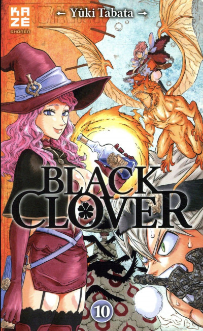 Couverture Black clover tome 10