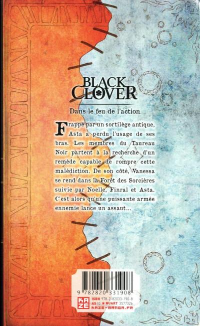 Dos Black clover tome 10