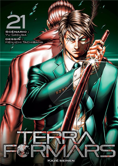 Couverture Terra formars tome 21