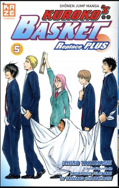 Couverture Kuroko's basket - replace plus tome 5