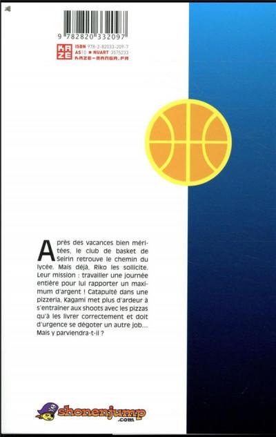 Dos Kuroko's basket - replace plus tome 5