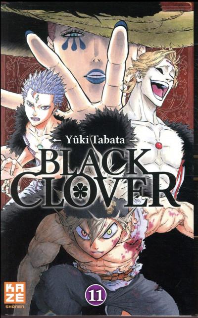 Couverture Black clover tome 11