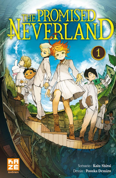 Couverture The promised neverland tome 1