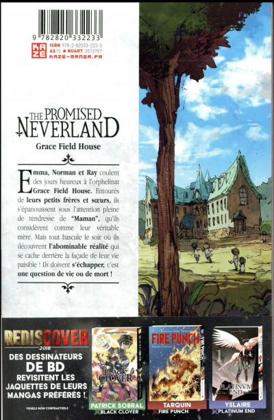 Dos The promised neverland tome 1