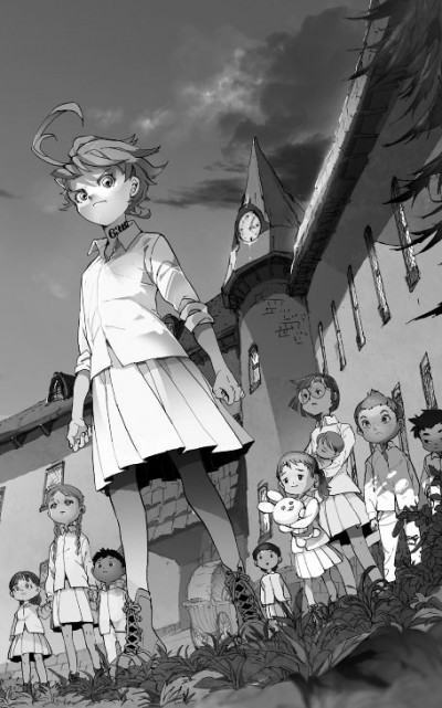 Page 2 The promised neverland tome 1