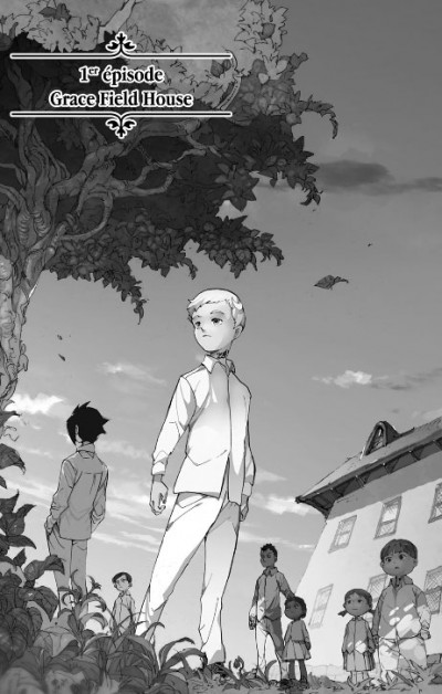 Page 3 The promised neverland tome 1