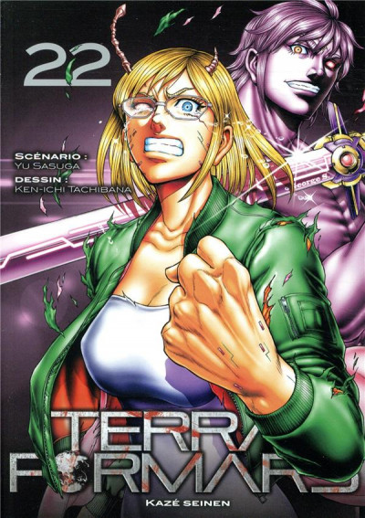 Couverture Terra formars tome 22