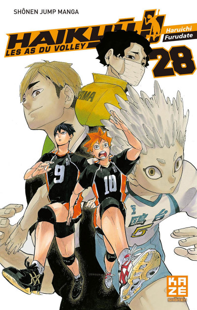 Couverture Haikyu !! - Les as du volley tome 28