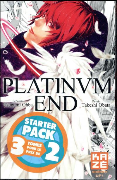 Couverture Platinum end - starter pack tomes 1 à 3