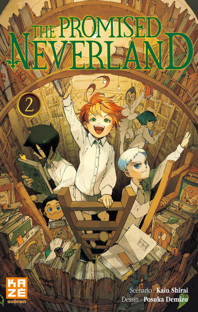 Couverture The promised neverland tome 2