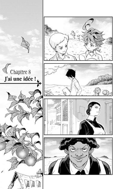 Page 8 The promised neverland tome 2