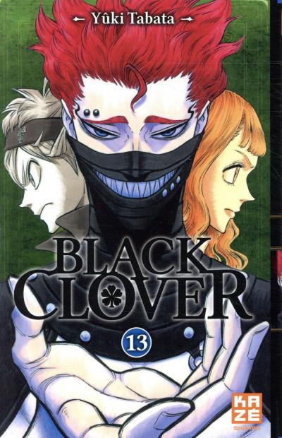 Couverture Black clover tome 13