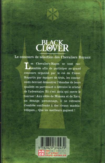 Dos Black clover tome 13