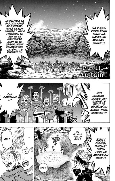 Page 6 Black clover tome 13