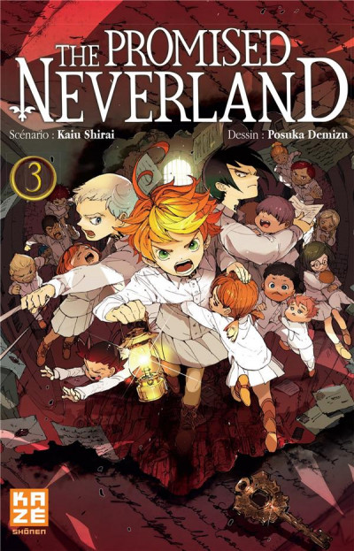 Couverture The promised neverland tome 3
