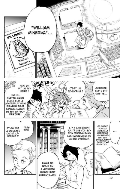 Page 9 The promised neverland tome 3
