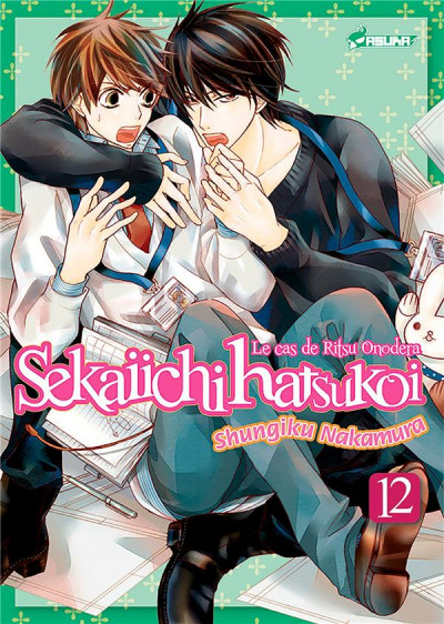 Couverture Sekai ichi hatsukoi tome 12