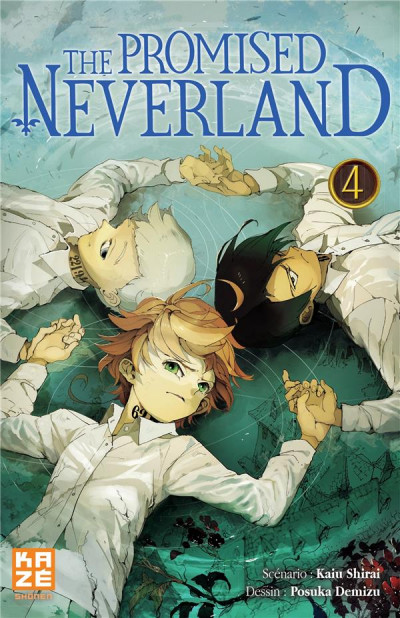 Couverture The promised neverland tome 4