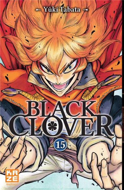 Couverture Black clover tome 15