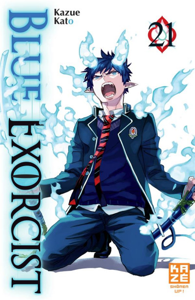 Couverture Blue exorcist tome 21