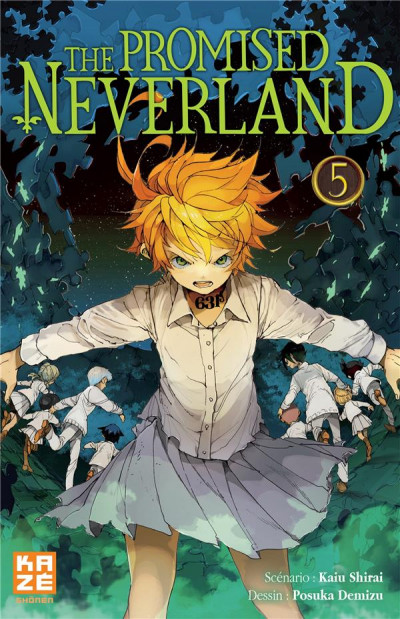 Couverture The promised neverland tome 5