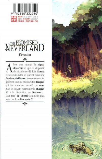 Dos The promised neverland tome 5