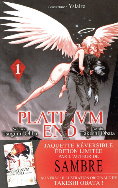 Couverture Platinum end tome 1 - Rediscover