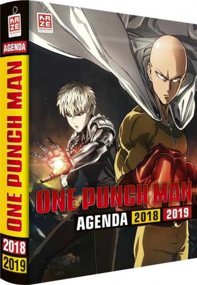 Couverture One-Punch Man - agenda 2018/2019