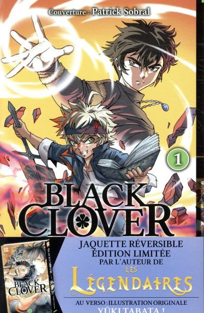 Couverture Black Clover tome 1 - Variant cover Patrick Sobral