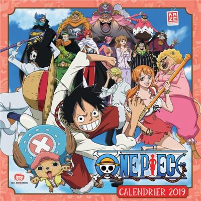 Couverture One Piece ; calendrier (édition 2019)