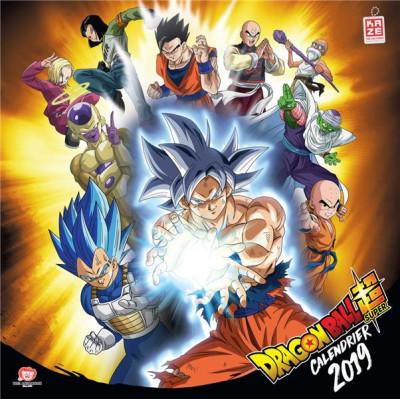 Couverture Dragon Ball Super - calendrier 2019