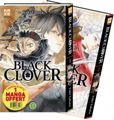Couverture Black Clover - pack découverte tomes 1 et 2