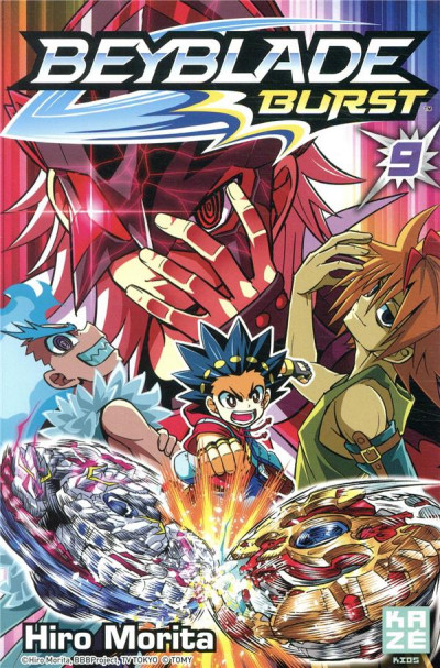 Couverture Beyblade burst tome 9